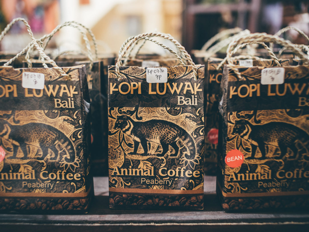 A pack of Kopi Luwak, Indonesia