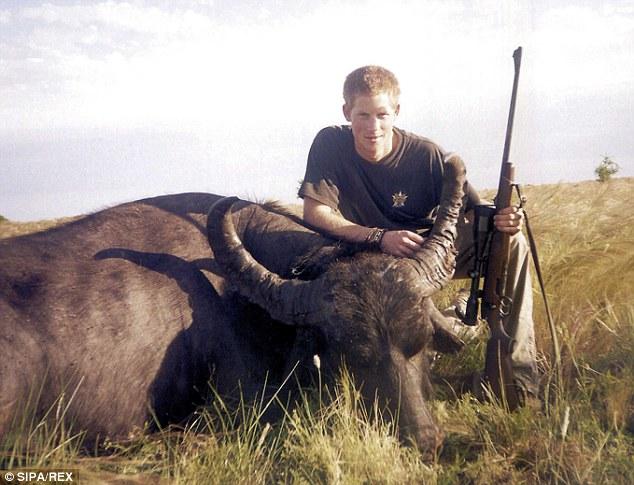 Le Prince Harry est un amateur de chasse