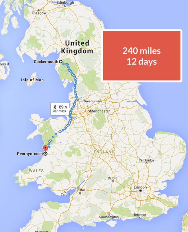 240 miles